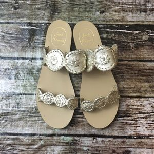 Jack Rogers Lauren Leather Sandals